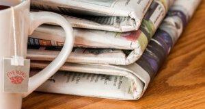 dagelijks papieren krant zaterdag