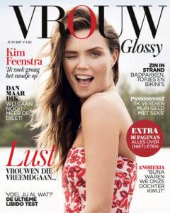 vrouw magazine cover