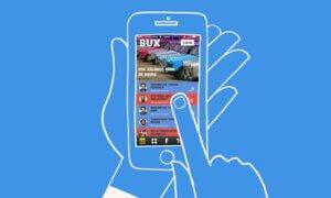 uitleg hoe werkt bux app