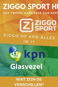 ziggo vs kpn glasvezel mogelijkheden