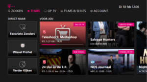 t-mobile tv interface